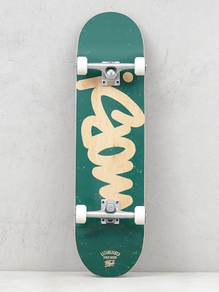 Skateboard Mob Skateboards Tag Logo (green)