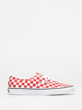 Boty Vans Authentic (blur check/true white/red)
