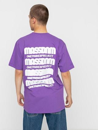 Tričko MassDnm Blur (purple)