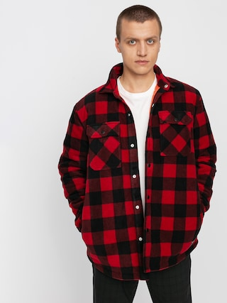 Bunda Volcom Bower Polar Fleece (rio red)