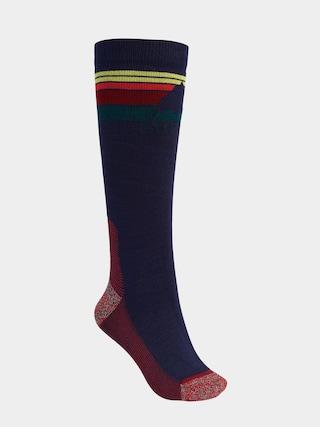 Ponožky Burton Emblem Midweight Wmn (dress blue)