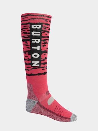 Ponožky Burton Performance Midweight (punchy pink)