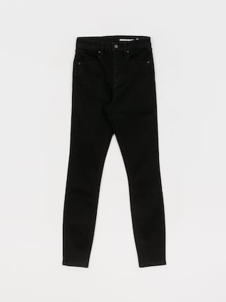 Kalhoty Volcom Liberator High Rise Wmn (premium wash black)