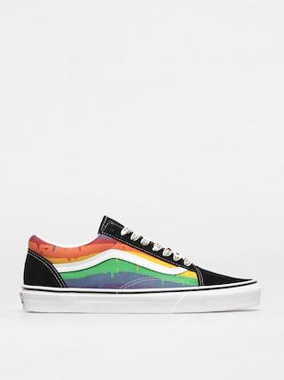 Boty Vans Old Skool (rainbow drip/blkmlttrwht)