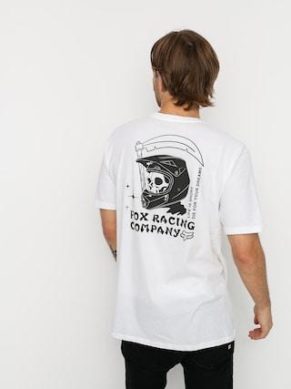 Tričko Fox Death Wish Premium (opt wht)