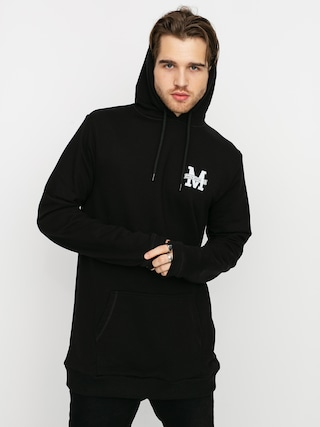 Mikina s kapucí Malita Logo HD (black)