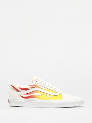 Boty Vans Old Skool (flame/tr wht/classic wht)