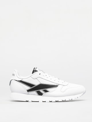 Boty Reebok Classic Leather (white/black/msilve)