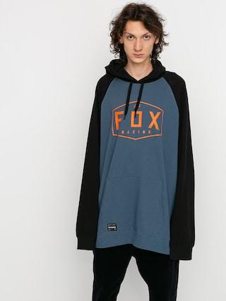 Mikina s kapucu00ed Fox Crest HD (blu stl)