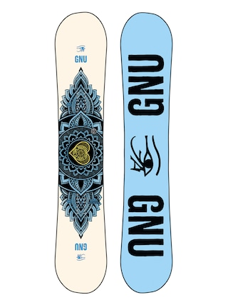 Snowboard Gnu Pro Choice Wmn (blue/black)