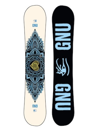 Snowboard Gnu Pro Choice Wmn (black/blue)