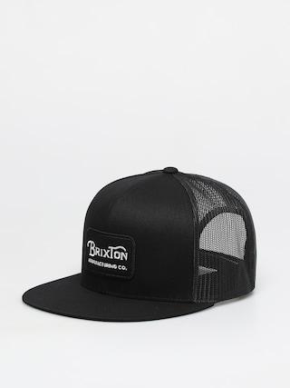 Kšiltovka  Brixton Grade Mesh Cap (black/black)