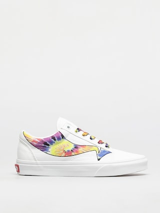 Boty Vans Old Skool (warp/true white/tie dye)