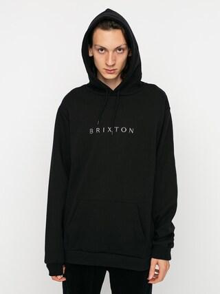 Mikina s kapucu00ed Brixton Alpha Line HD (black)