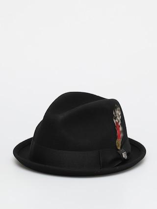 Klobouk Brixton Gain Fedora (black)