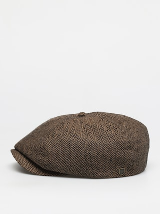 Klobouk s ku0161iltem Brixton Brood Snap Cap (brown/khaki)