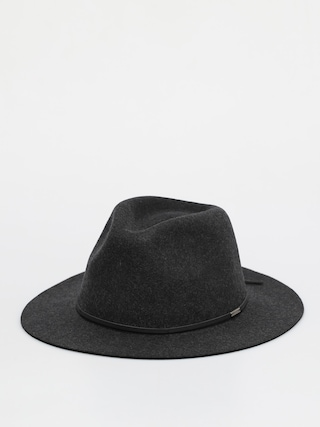 Klobouk Brixton Wesley Fedora (heather black)