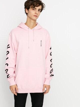 Mikina s kapucu00ed Volcom Supply Stone HD (snow pink)