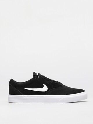 Boty Nike SB Charge Suede (black/white/black)