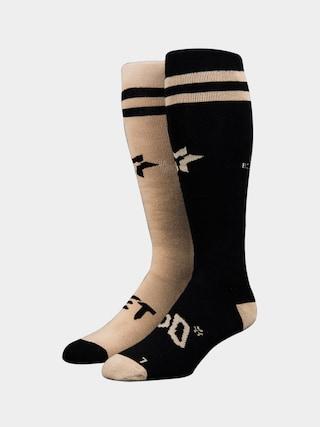 Ponožky Stinky Socks Method Magazine (black/gold)