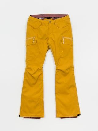Snowboardovu00e9 kalhoty  Burton Gloria Insulated Wmn (harvest gold)