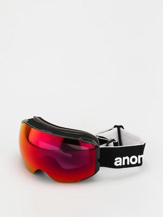 Bru00fdle na snowboard Anon M2 (black/perceive sunny red)