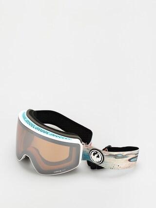 Bru00fdle na snowboard Dragon PXV (iguchi sig 20/ll silver ion/ll amber)