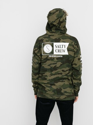 Mikina s kapucí Salty Crew Alpha HD (camo)