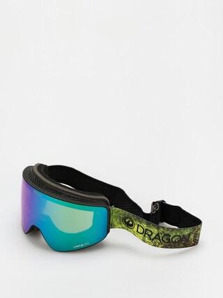 Brýle na snowboard Dragon PXV (terra firma/ll green ion/ll amber)