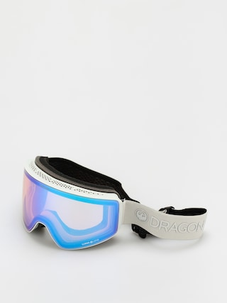 Brýle na snowboard Dragon PXV (salt/ll flash blue/ll dark smoke)