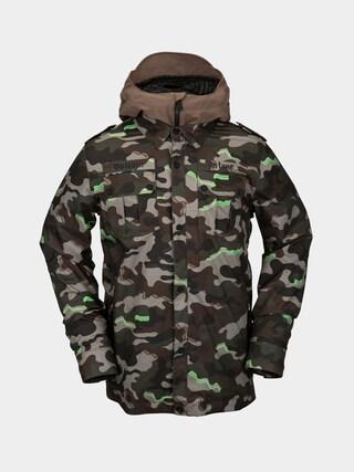 Snowboardovu00e1 bunda Volcom Creedle2Stone (army)