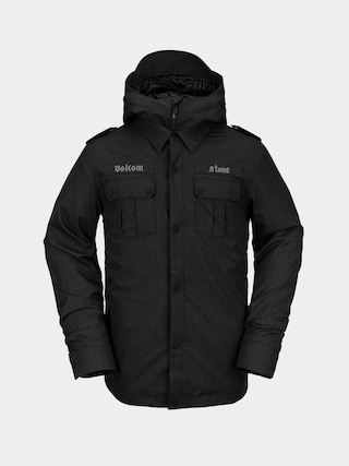 Snowboardovu00e1 bunda Volcom Creedle2Stone (black)