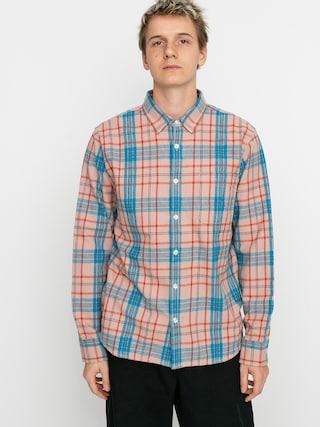Košile OBEY Lester (pink multi)