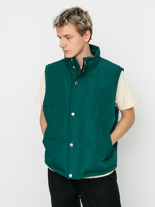 Bunda Polar Skate Kamizelka Puffer (dark green)