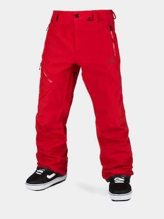 Snowboardovu00e9 kalhoty  Volcom L Gore Tex (red)