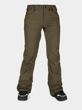 Snowboardovu00e9 kalhoty  Volcom Species Stretch Wmn (black military)
