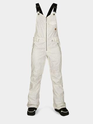 Snowboardovu00e9 kalhoty  Volcom Swift Bib Overall Wmn (bone snake)