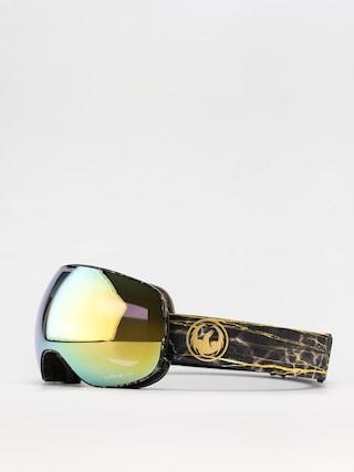 Brýle na snowboard Dragon X2 (14 karat/ll gold ion/ll amber)