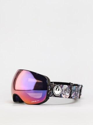 Bru00fdle na snowboard Dragon X2 (schoph dap 20 /ll purple ion/ll amber)