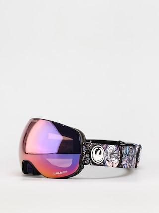 Brýle na snowboard Dragon X2 (schoph dap 20 /ll purple ion/ll amber)