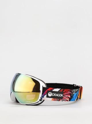 Bru00fdle na snowboard Dragon X2s (hot duck/ll gold ion/ll yellow)