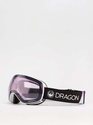 Bru00fdle na snowboard Dragon X2s (pearl/ll violet/ll dark smoke)