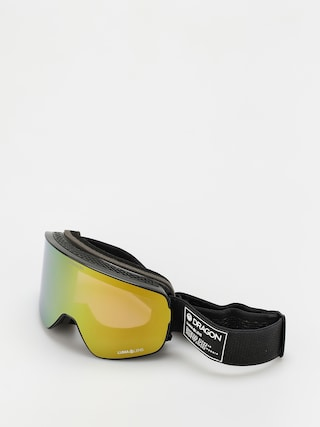 Bru00fdle na snowboard Dragon NFX2 (anthracite/ll gold ion/ll amber)