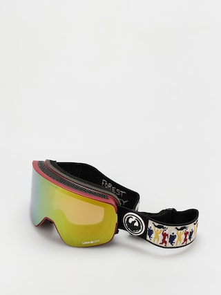Bru00fdle na snowboard Dragon NFX2 (forest sig 20/ll gold ion/ll yellow)