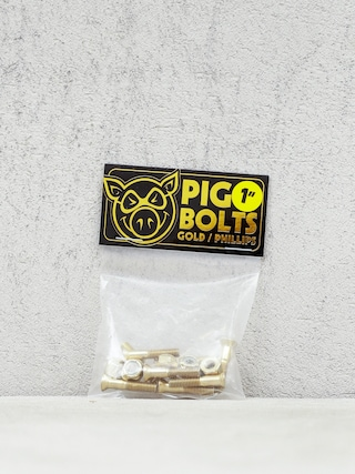 u0160roubky Pig Phillips Bolts (gold)