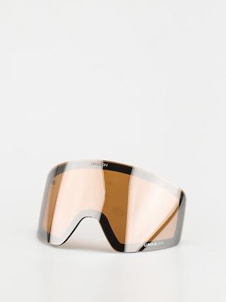 Sklo na snowboardové brýle Dragon PXV (lumalens silver ion)