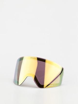 Sklo na snowboardové brýle Dragon PXV2 (lumalens gold ion)