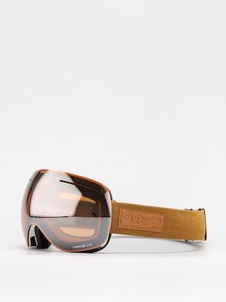 Brýle na snowboard Dragon X1 (coyote/ll silver ion/ll violet)