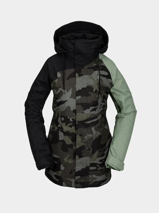 Snowboardovu00e1 bunda Volcom Westland Ins Wmn (service green)