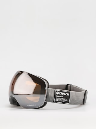 Brýle na snowboard Dragon X2 (titanium/ll silver ion/ll dark smoke)